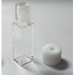 Fluorescence Quartz Cuvette,with one Screw Cap and Septum, Spect